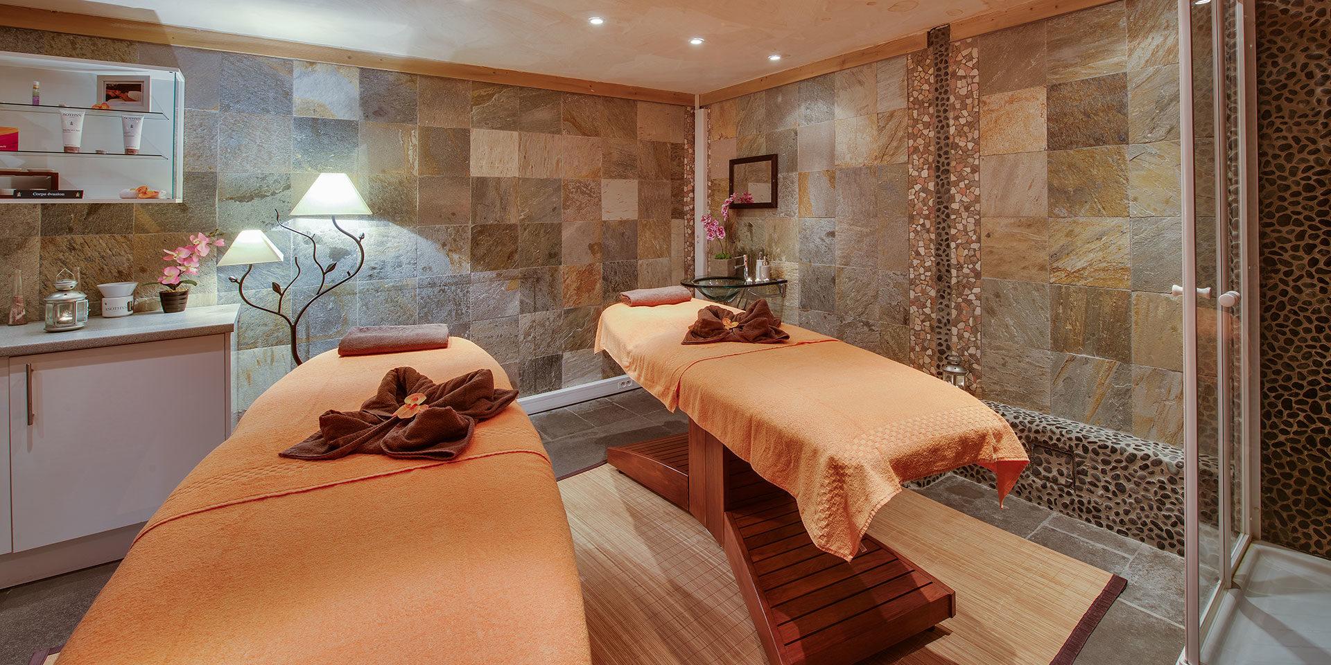 CGH Oree des Cimes Vallandry Paradiski Frankrijk wintersport skivakantie luxe Spa massage behandeling ontspannen genieten wellness