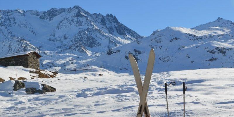 Val Thorens Les 3 Vallees Frankrijk pistes sneeuw bergen landschap skis