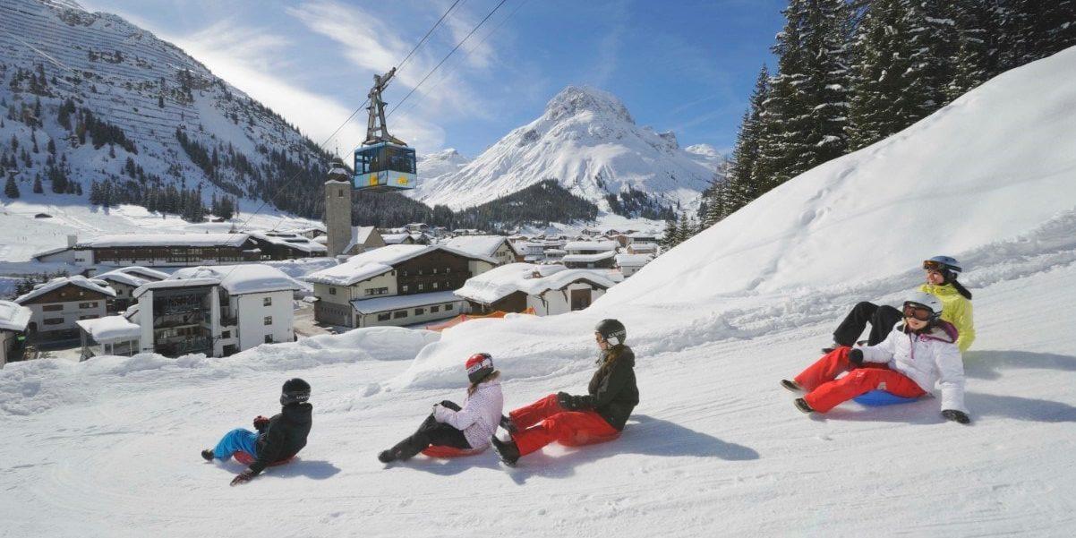 Lech Arlberg Oostenrijk