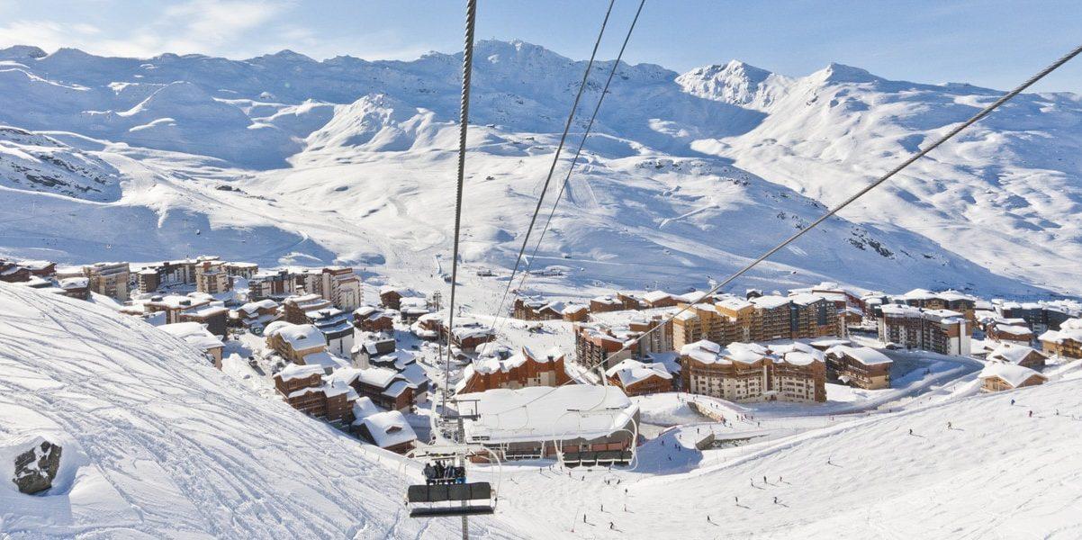 Val Thorens Les 3 Vallees Frankrijk wintersport skivakantie luxe dorp gondel bergen sneeuw
