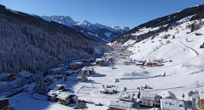 Gerlos Zillertal Arena Oostenrijk wintersport skivakantie luxe