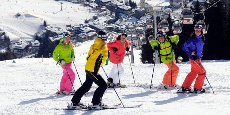Skicircus Saalbach Hinterglemm Leogang Oostenrijk