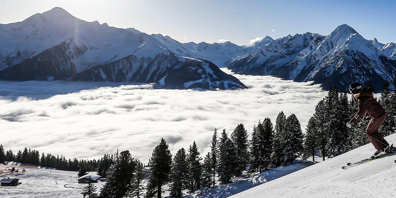 Mayrhofen Ski Zillertal 3000 Oostenrijk