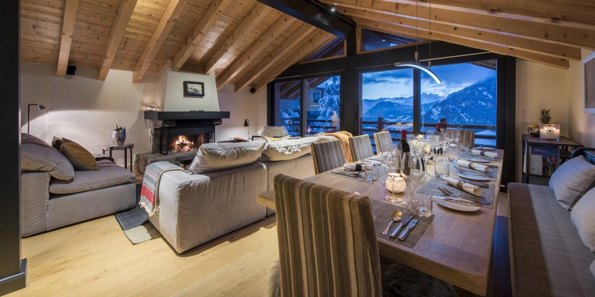 Chalet Sorojasa Verbier Les 4 Vallees Zwitserland