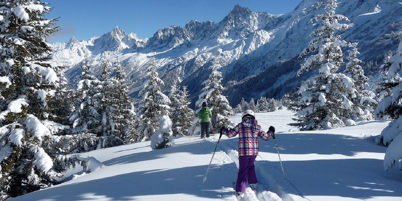 Les Houches Chamonix Mont Blanc Frankrijk WintersportDeluxe