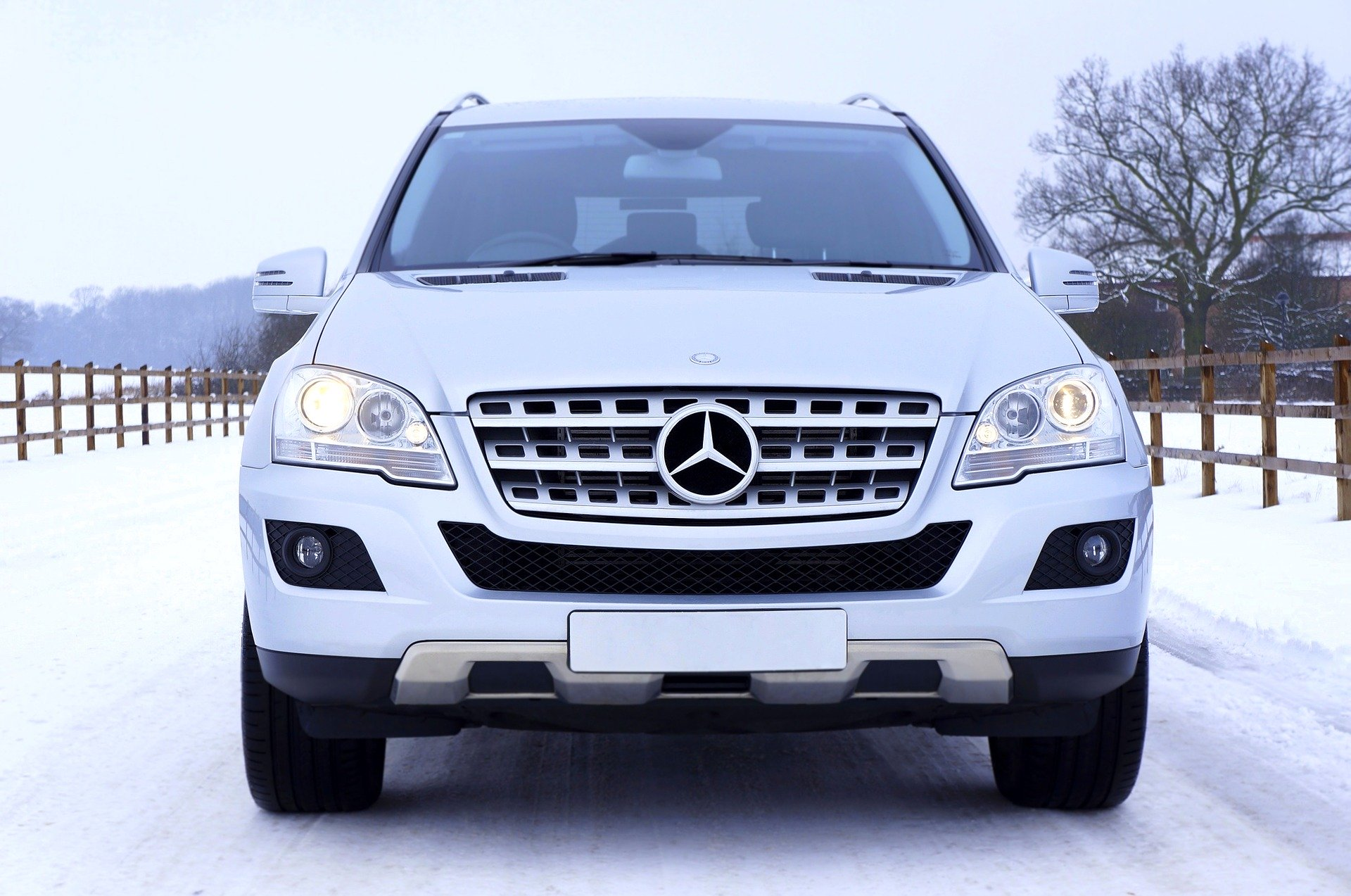 Mercedes transfer sneeuw wintersportdeluxe