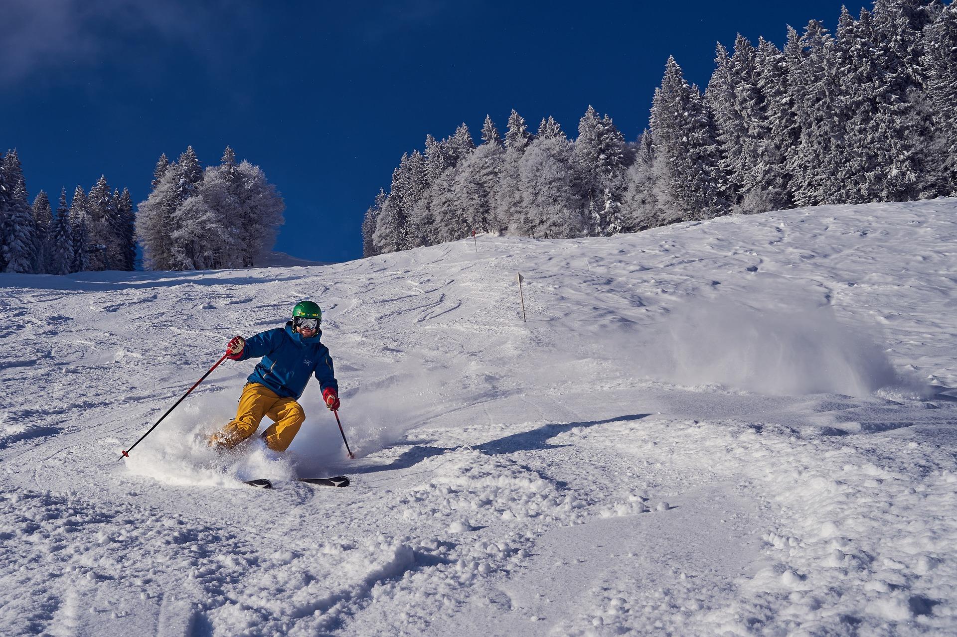 Skimateriaal skipakket wintersportdeluxe